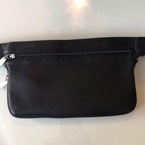 HOBO International black leather belt bag
